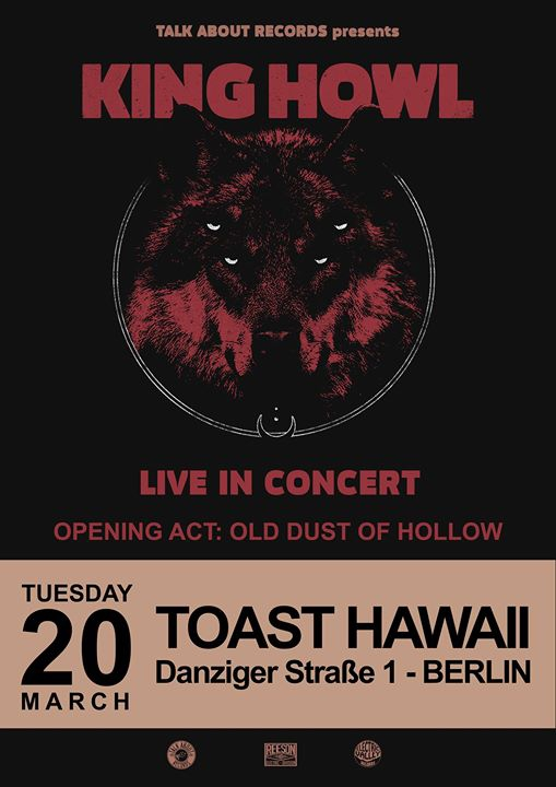 KING HOWL | Old Dust Of Hollow @Toast Hawaii