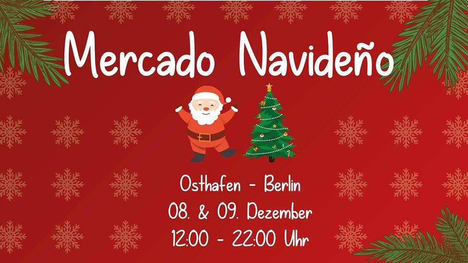 Lateinamerikanischer Weihnachtsmarkt - Osthafen, Berlin