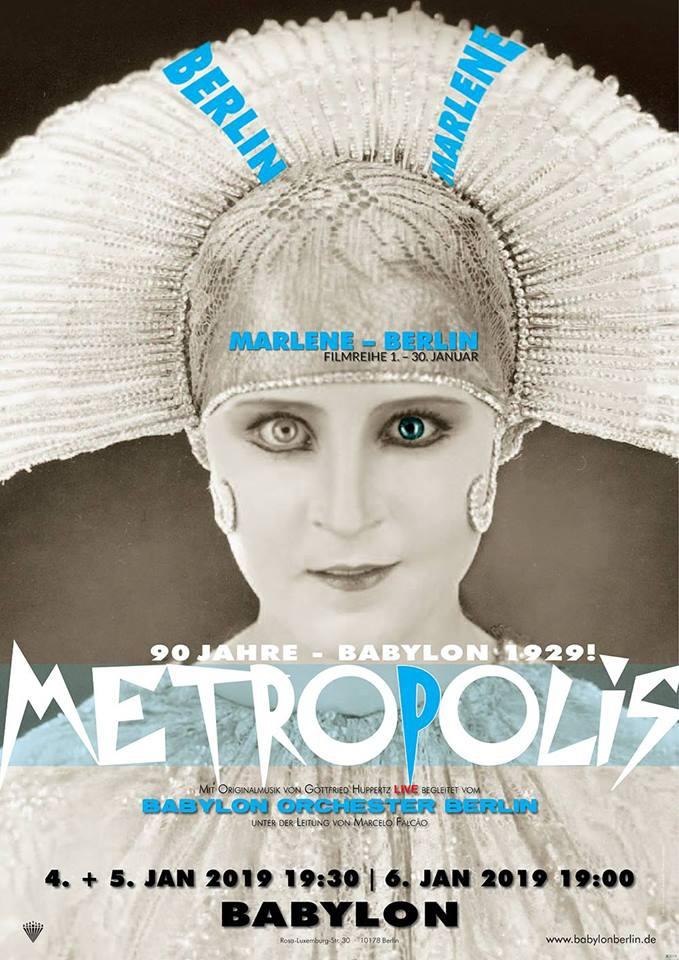 Metropolis LIVE mit Babylon Orchester Berlin