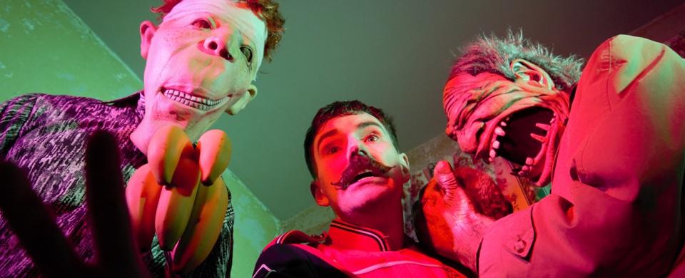 Monsieur Pompier's Travelling Freakshow Live @ Monster Ronson's