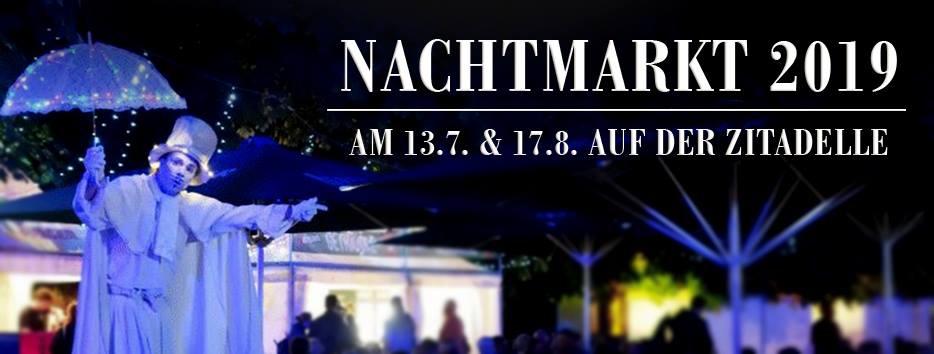 Nachtmarkt 2019 auf der Zitadelle Spandau - JULI