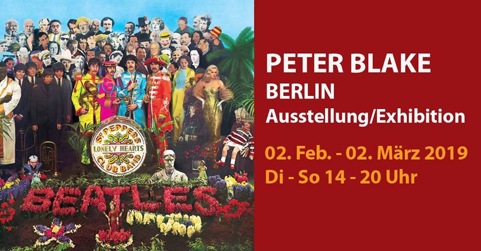 Peter Blake Berlin - British Pop Art