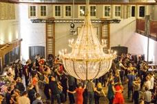 Silvester Show Bankett at Alte Turnhalle