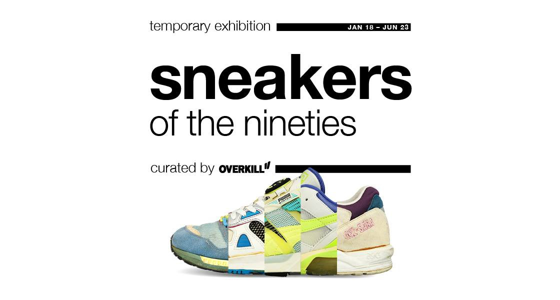 Sneakers of the Nineties - Temporary Exhibition