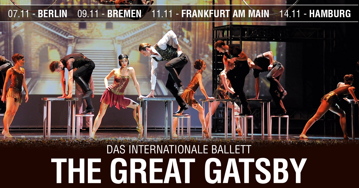 The Great Gatsby Ballet in Berlin!