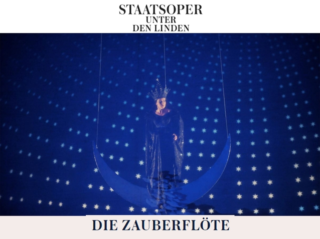 The Magic Flute at Berlin Staats Oper – April 12th