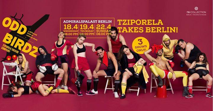 Tziporela Theatre Company 'Odd Birdz' Berlin Tour