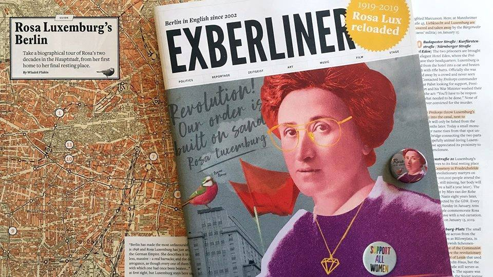 Walking Tour: Rosa Luxemburg's Berlin