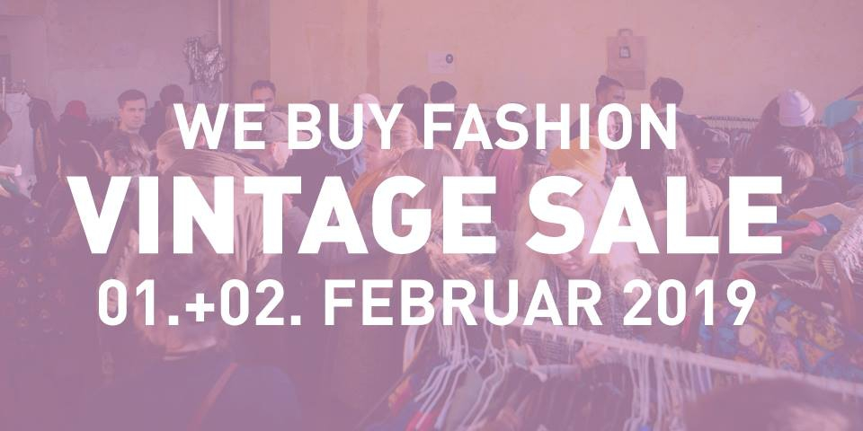 We Buy Fashion - Vintage Sale