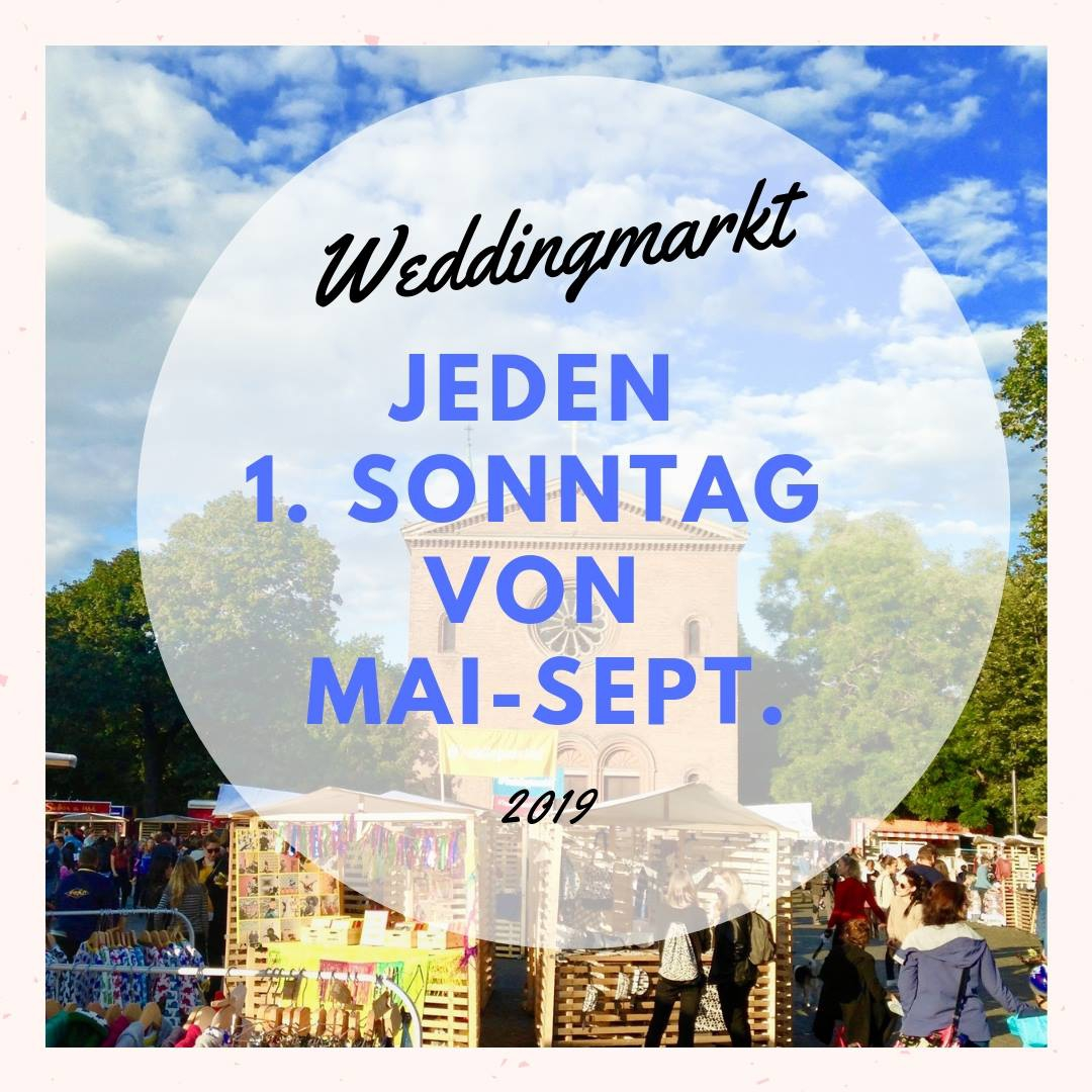 Weddingmarkt Art & Design Market - JULY