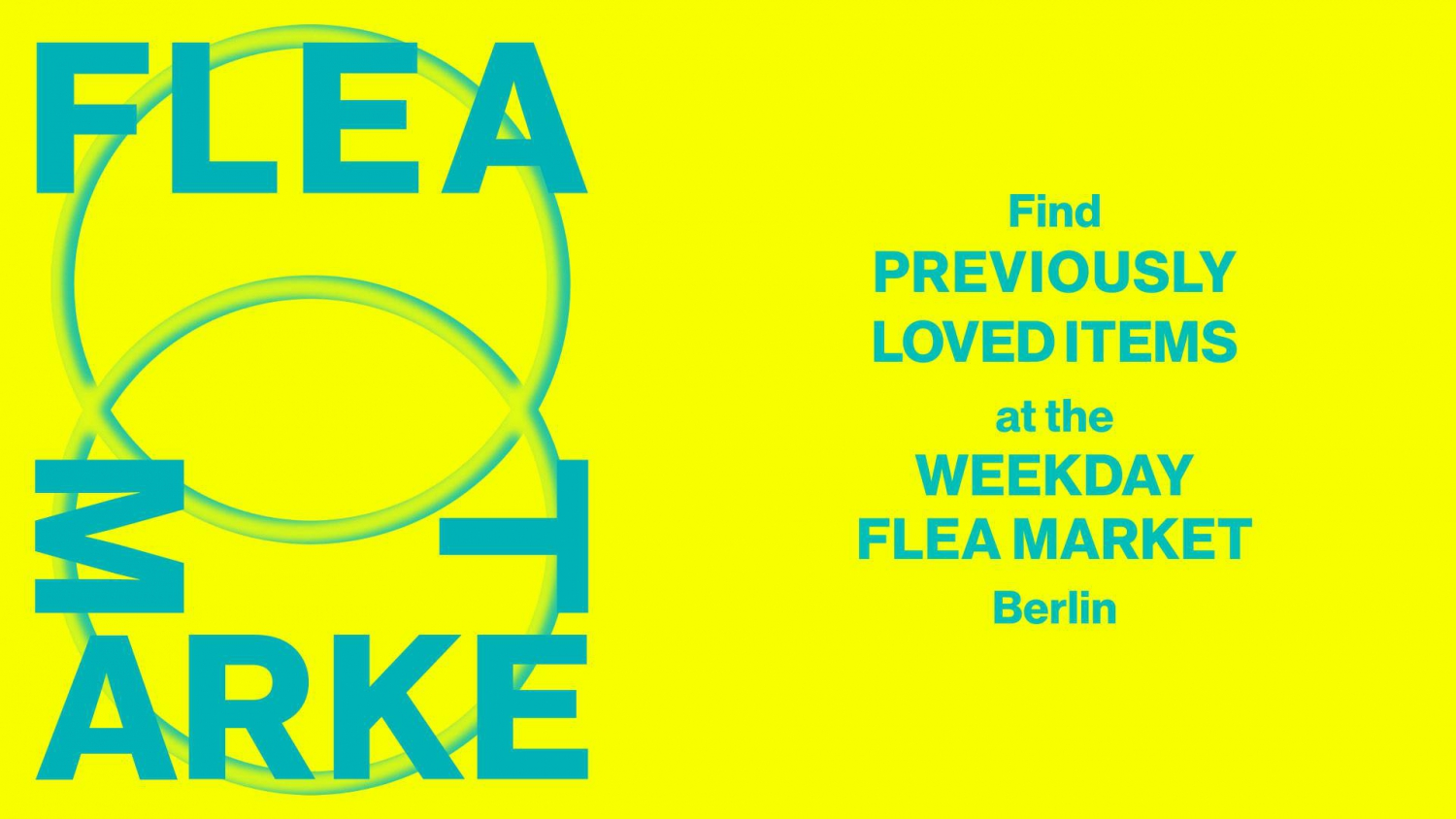 Weekday Flea Market - Berlin East Side Mall