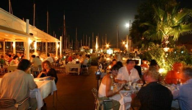 Bodrum Marina Yacht Club Restaurant