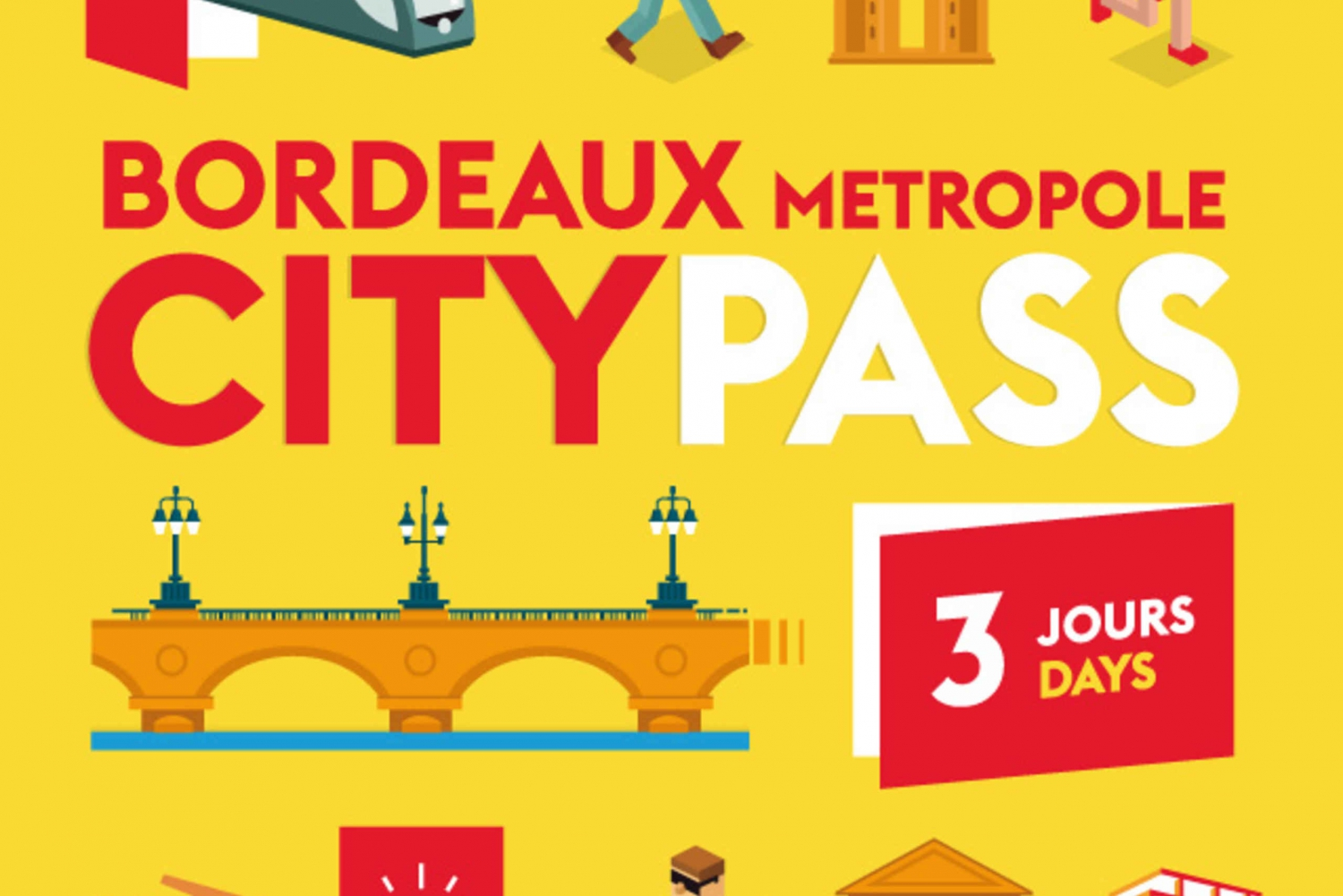 Bordeaux Metropole City Pass for 24, 48 or 72 Hours