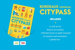 Bordeaux Metropole City Pass for 48 or 72 Hours