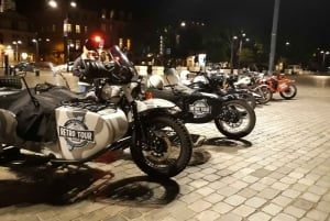 Bordeaux: Nighttime Sidecar Tour with Wine Tasting