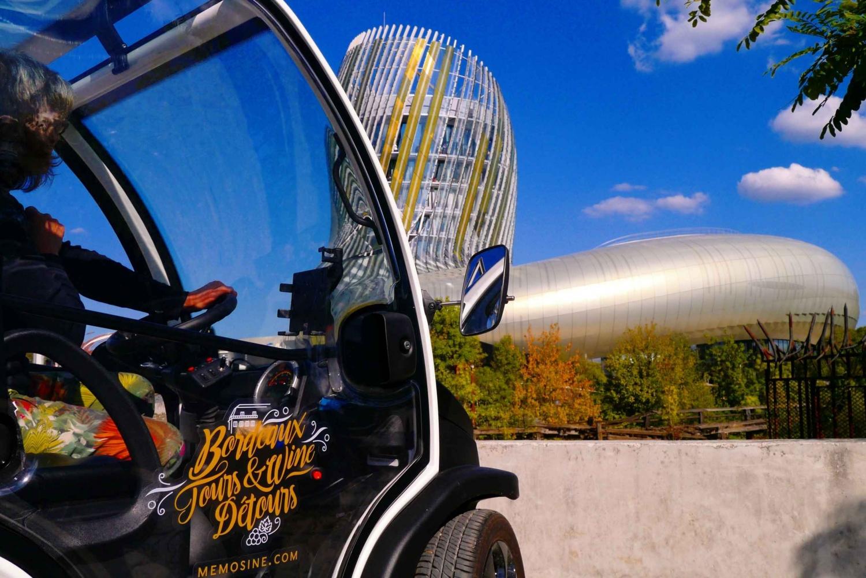 Bordeaux Self-Guided UNESCO Tour and La Cité du Vin Ticket