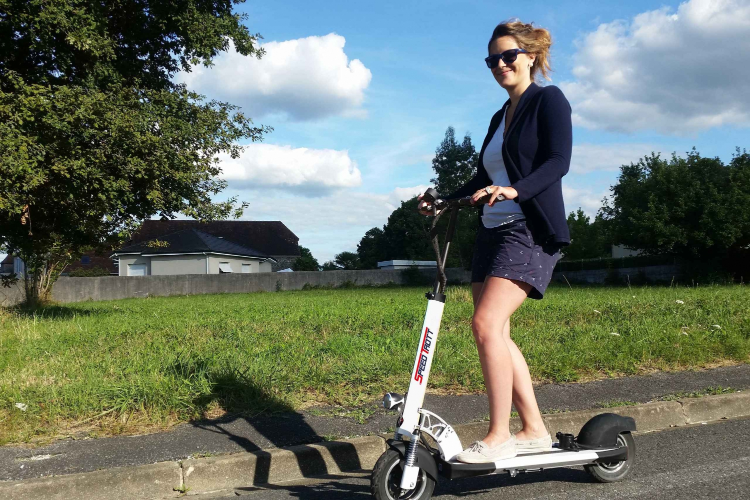 Electric Scooter Tour