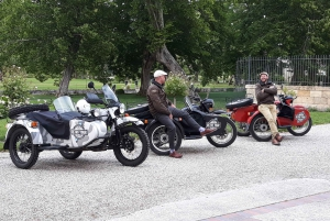 From Bordeaux: Médoc Vineyard and Chateau Tour by Sidecar