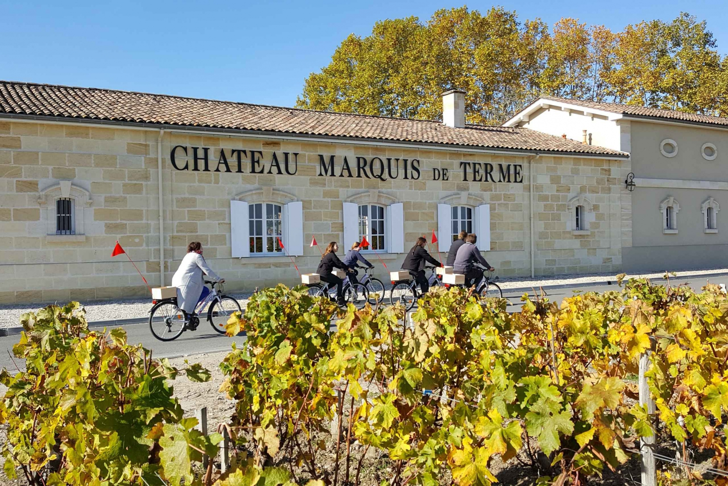 From Full-Day Medoc 1855 Wines w/ lunch