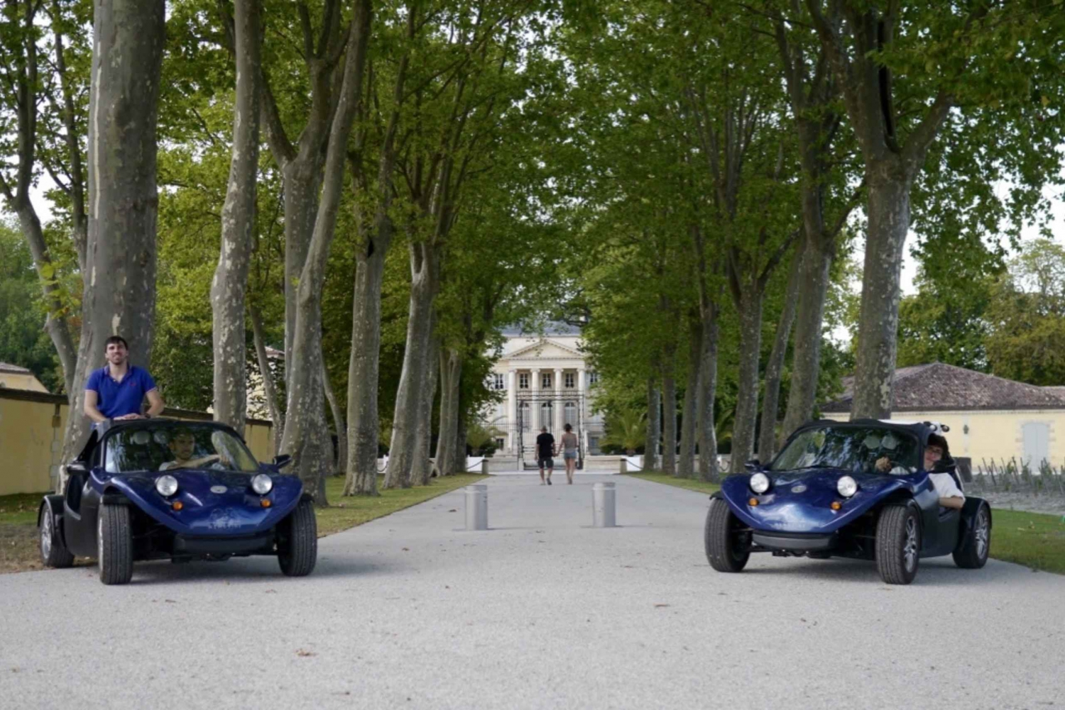 Half-Day Self-Guided Buggy Tour to Margaux Médoc