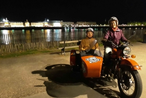 Nighttime Sidecar Tour with Wine Tasting
