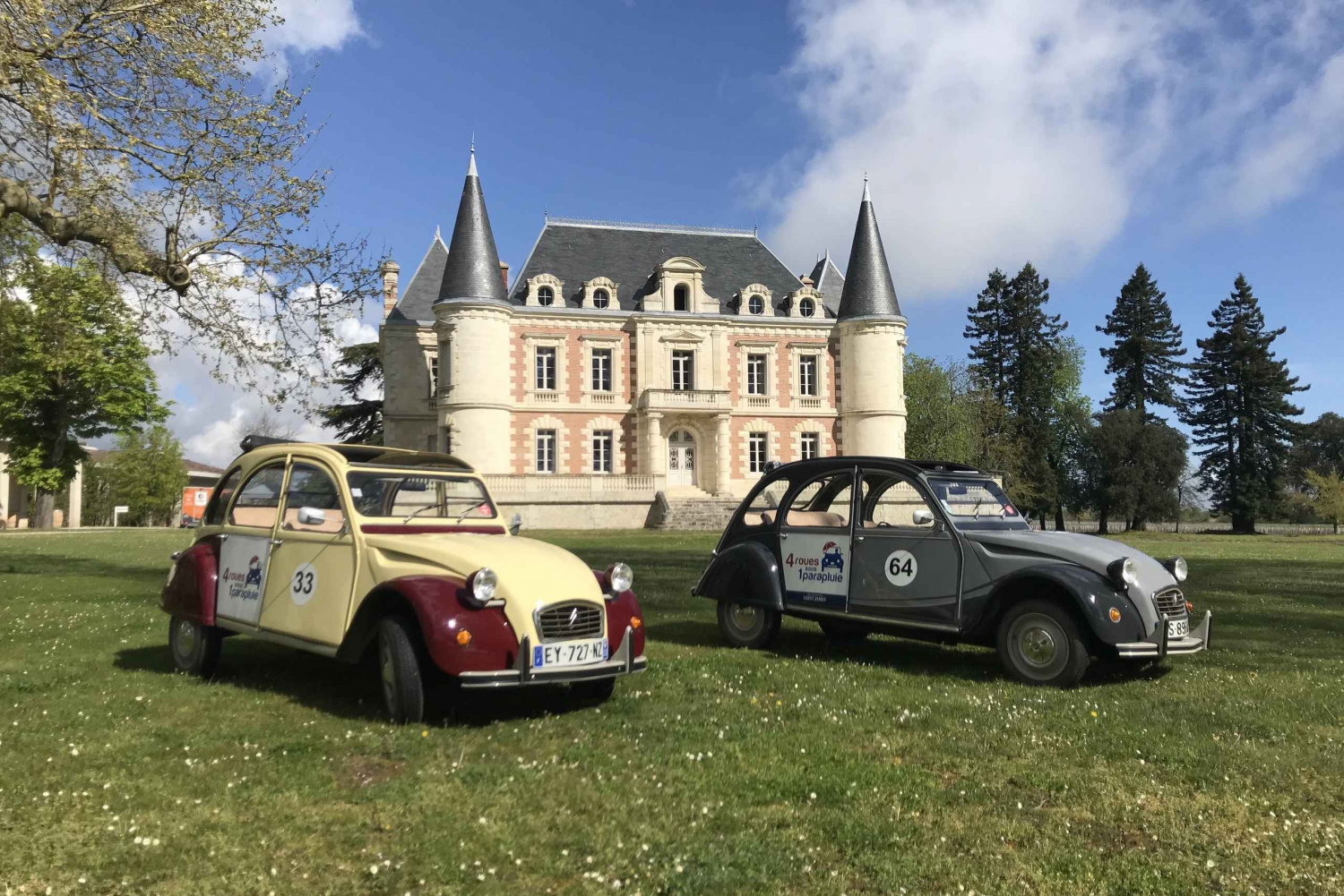 Private 4-Hour Wine Tour in a Citroën 2CV