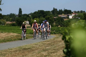 The Vineyards of St-Emilion by Bicycle