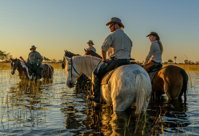 African Horse Back Safaris - Macatoo Camp
