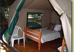 Delta Dawn campsite