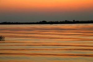 From Kasane: Chobe River Sunset Cruise