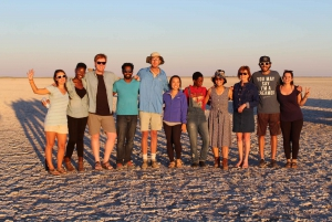 From Kasane: Sleeping Under the Stars at Makgadikgadi Pan