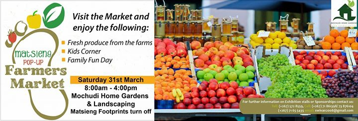 Matsieng Pop-up Farm market