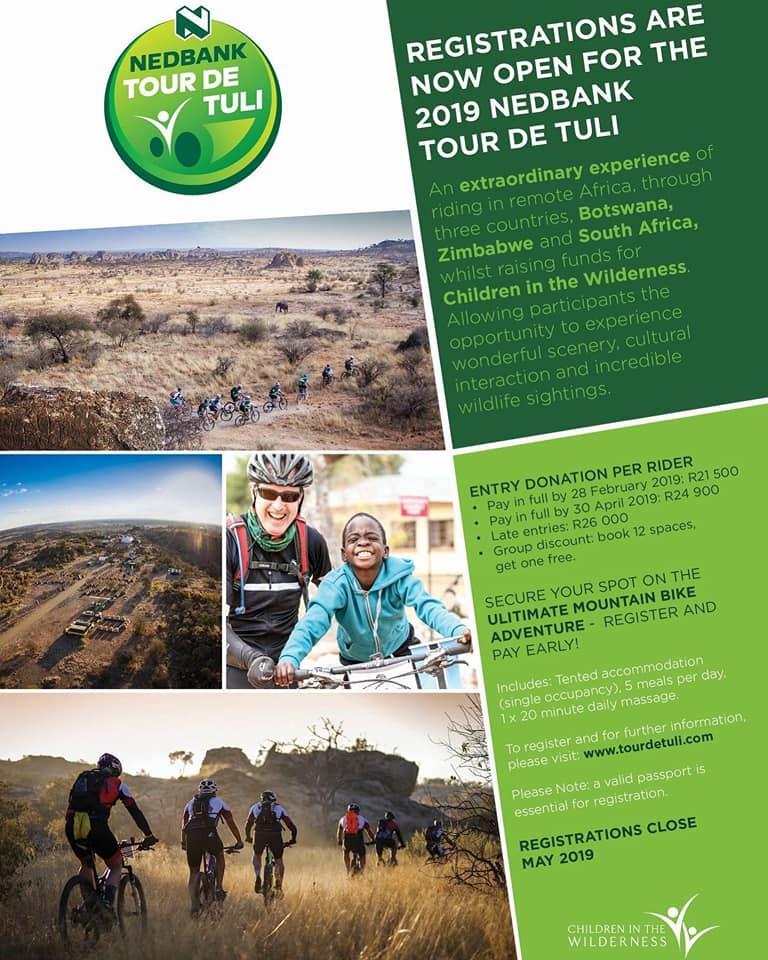 Nedbank Tour de Tuli 23-28 July