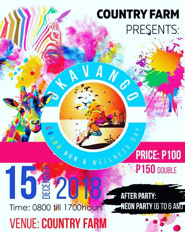 Okavango Color Run