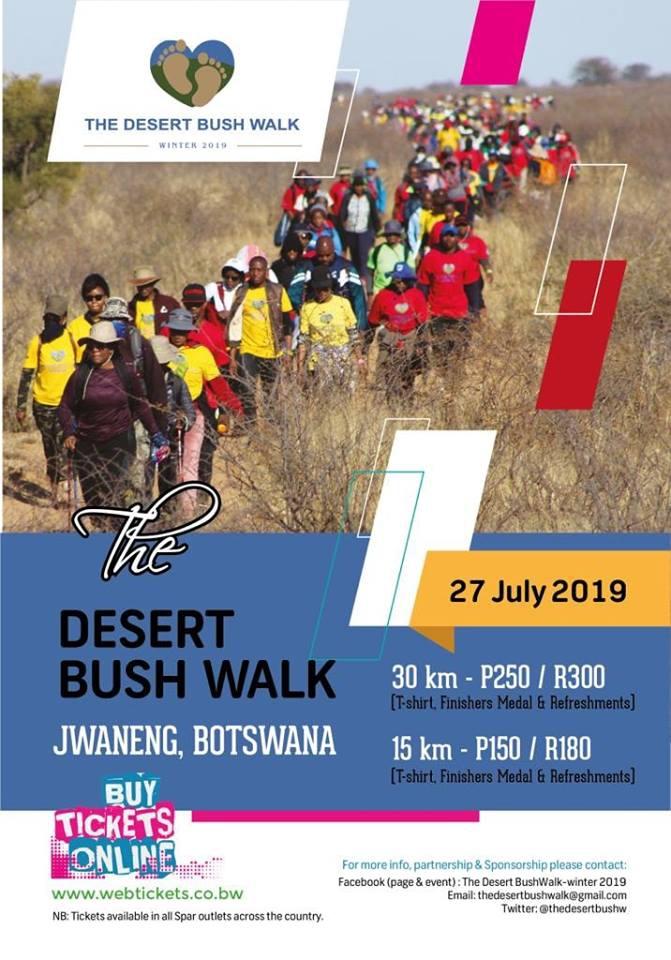 The Desert Bush Walk