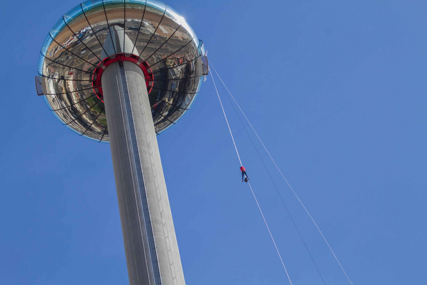 British Airways i360 iDrop