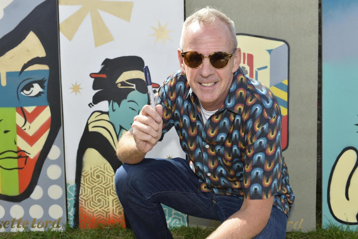 Signed Norman Cook murals by Cassette Lord go to auction