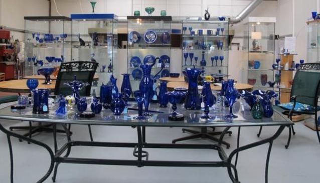 Bristol Blue Glass Bedminster