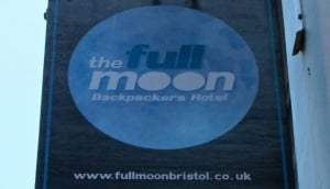 Full Moon and Attic Bar