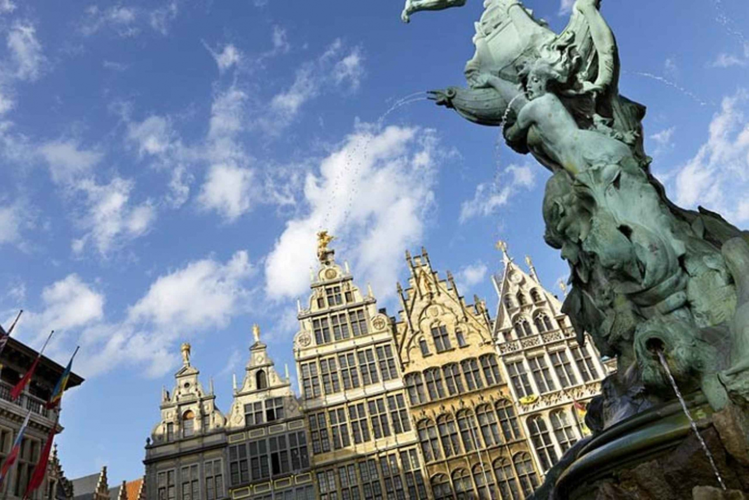 Antwerp: Guided Tour in Spanish from Brussels