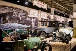 Brussels Autoworld Museum Admission Ticket