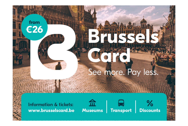 Brussels Card with STIB Public Transportation