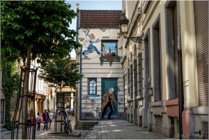 Brussels: Comic Book Murals Guided Walking Tour