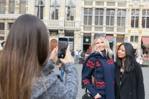 Brussels: Guided Walking Tour