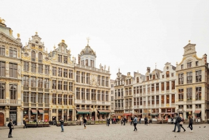 Brussels: Private 4-Hour History Walking Tour