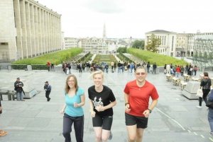 Brussels: Running Tour of the Historical Center