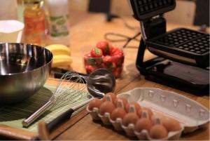 Brussels: Waffle Making Workshop