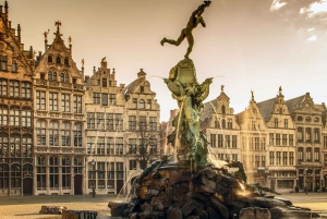 Combination Tour: Experience Brussels and Antwerp