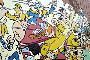 Comic Book Murals Guided Walking Tour
