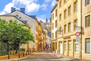 From Brussels: Day Trip to Luxembourg City